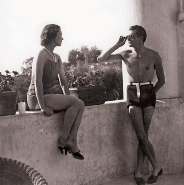 Kochankowie Vivien Leigh iLaurence Olivier nawakacjach w1936 roku