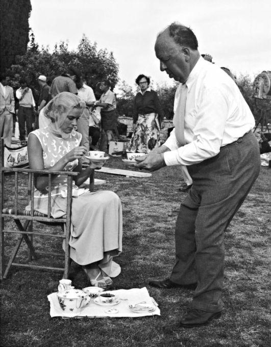 Grace Kelly iAlfred Hitchcock naplanie