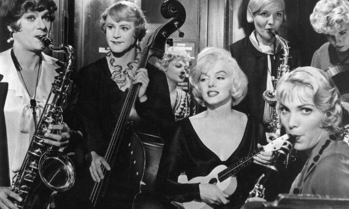 Najlepsze stare, czarno białe klasyki komedii - Pół żartem pół serio