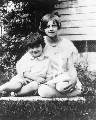 1927 rok. Dwuletni Rock Hudson zciotką Evelyn