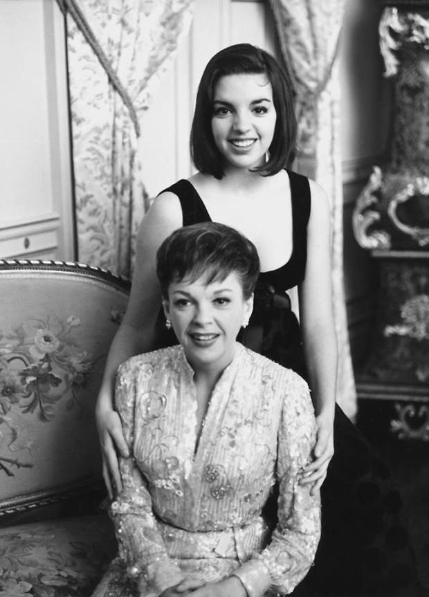 Judy Garland icórka Liza Minnelli w1964 roku