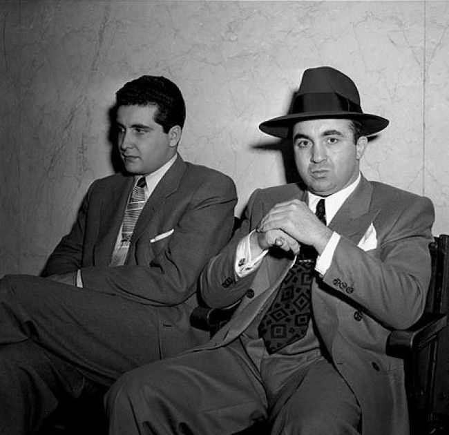Johnny Stompanato i gangster Mickey Cohen