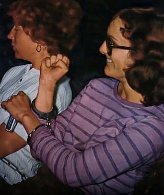 Patty Hearst wchwili aresztowania