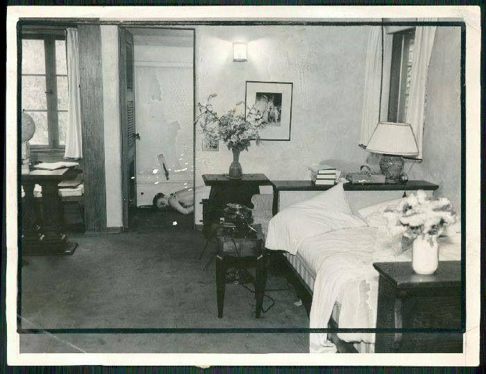 Sypialnia Paul Bern