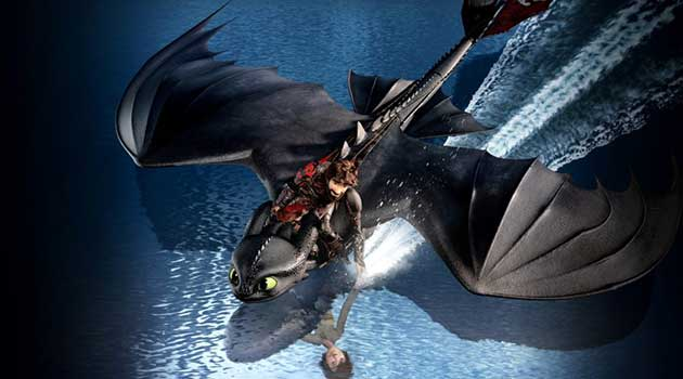 Постер мультфильма Как приручить дракона