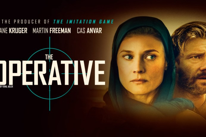 The Operative poster featuring Diane Kruger and Martin Freeman