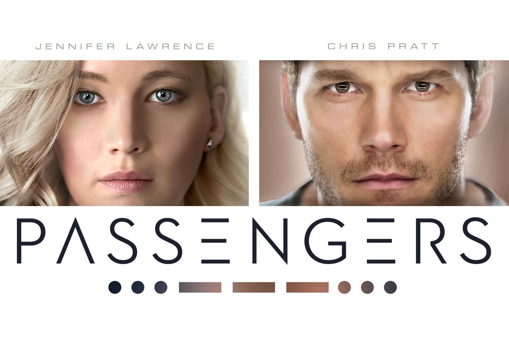 Image result for passengers 2016 movie poster