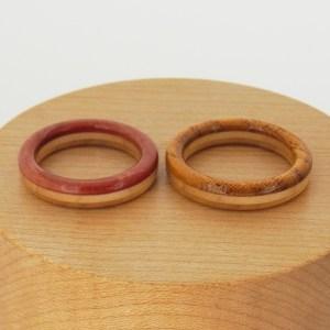 婚約指輪 木の指輪