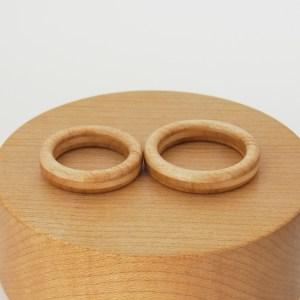 お供の指輪 木の指輪