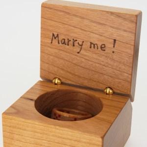 プロポーズ 指輪 仮