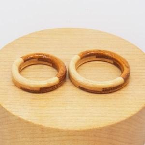 プロポーズ 木の指輪