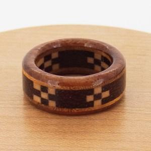 木婚式 ミンサー 指輪