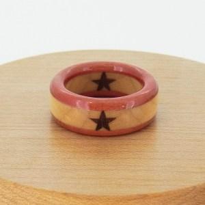 誕生日 プレゼント 木の指輪