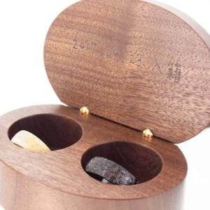 結婚指輪 麻の葉 指輪ケース