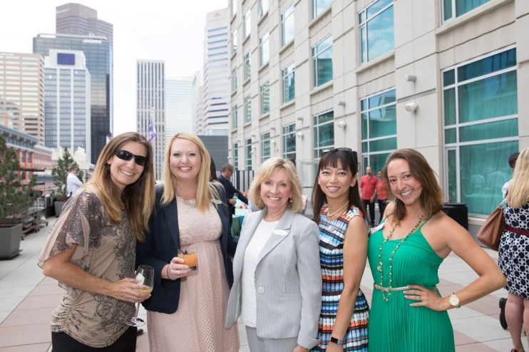 candid group of women at event, event photographer, reception photographer downtown, professional business women at event, reception photo, group photo, women group at event