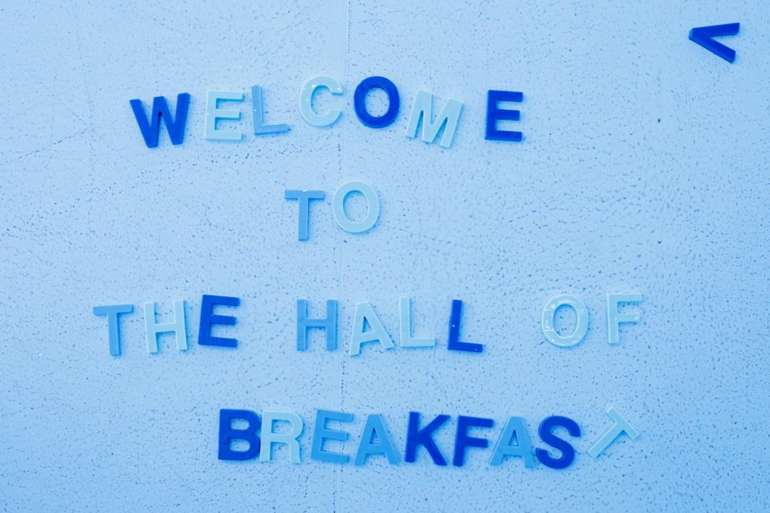 hall of breakfast salt Lkae city photography by Laura Kinser