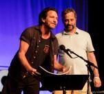 Eddie Vedder & Judd Apatow from Bonnaroo 2016