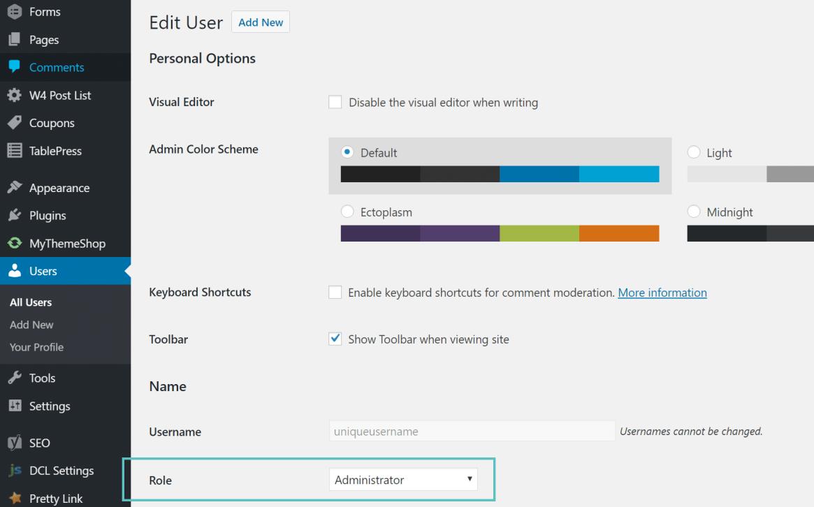 agregar nuevo usuario administrador