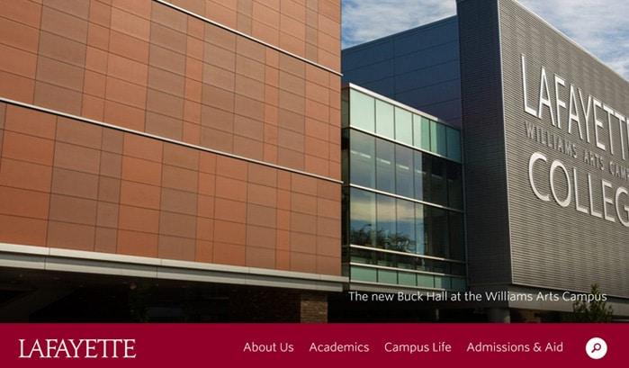 lafayette college wordpress sites