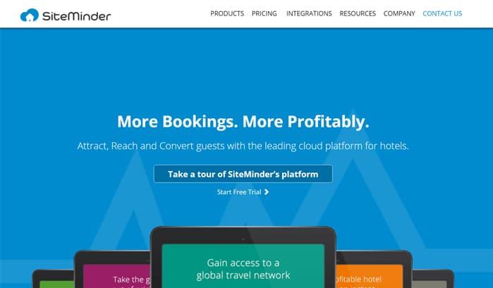 siteminder wordpress sites