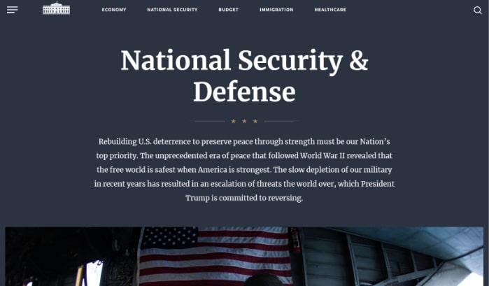 The White House runs WordPress