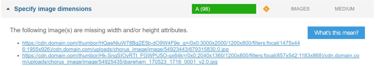 gtmetrix specify image dimensions