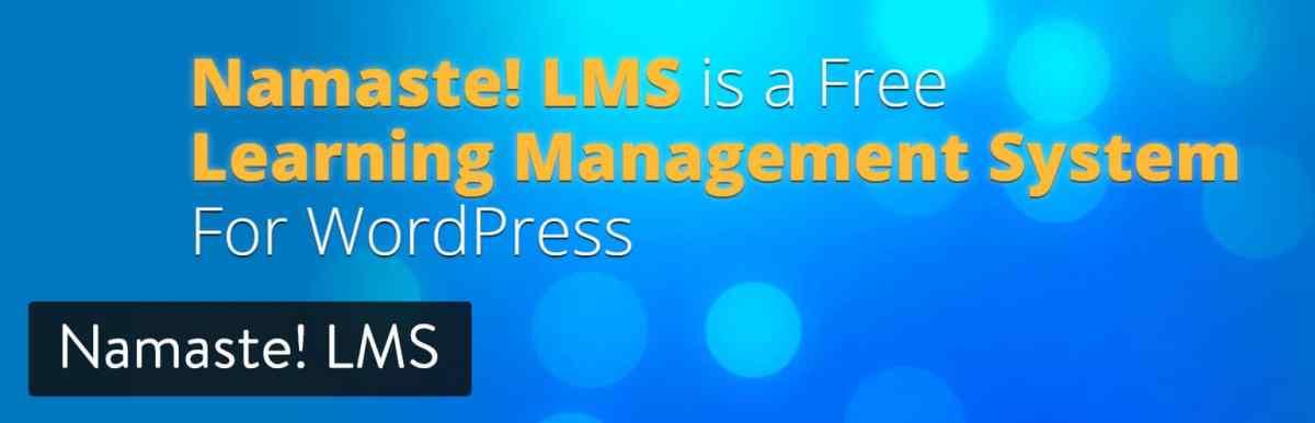 Namaste! LMS WordPress plugin