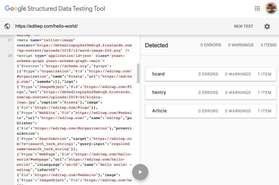 Alat Pengujian Data Terstruktur Google