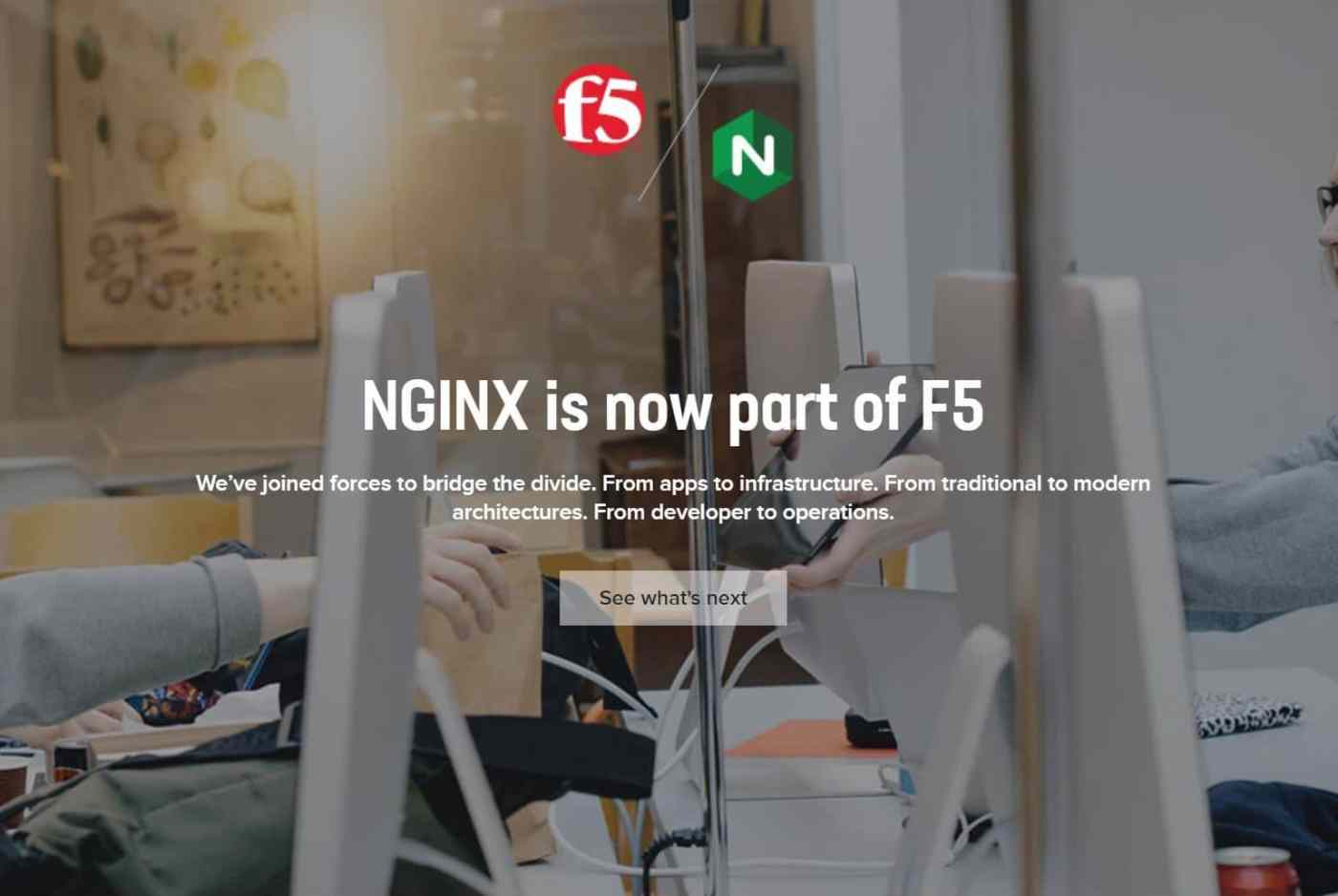 NGINX Inc acquired by F5 Networks