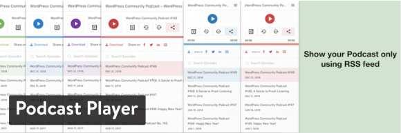 Podcast Player WordPress plugin