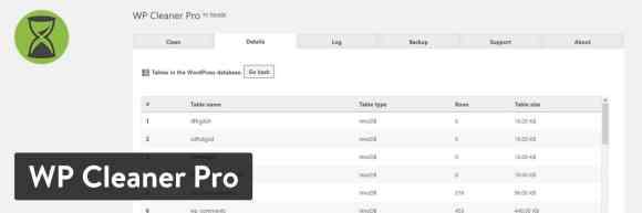 WP Cleaner Pro WordPress plugin
