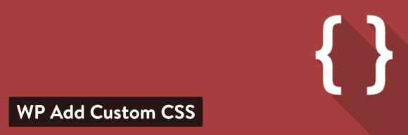 WP Add Custom CSS WordPress plugin