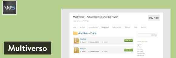Multiverso WordPress plugin