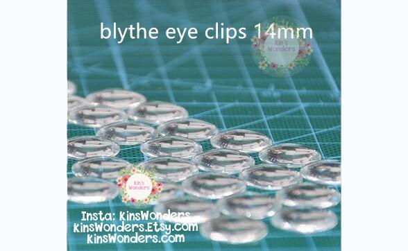 Blythe doll glass chips 14mm eyechips chips #81