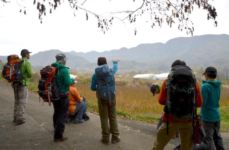 秋の登山教室 地図読み&コンパスナビゲーション&テーピング講習