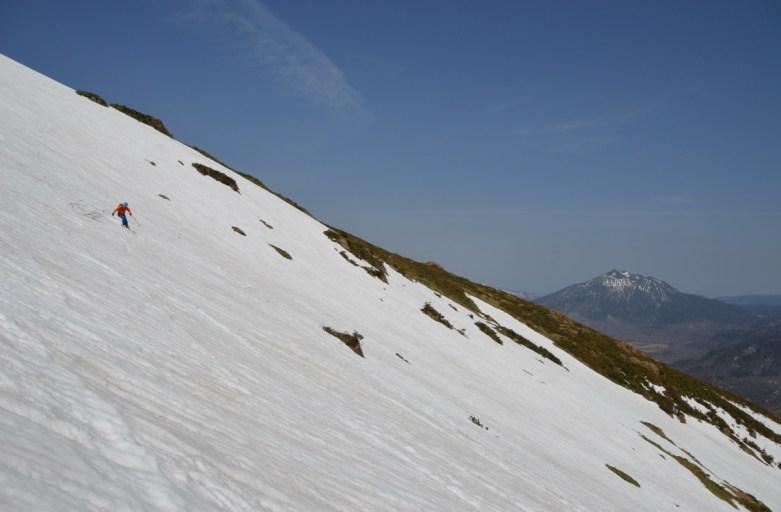 至仏山バックカントリーツアー 160426