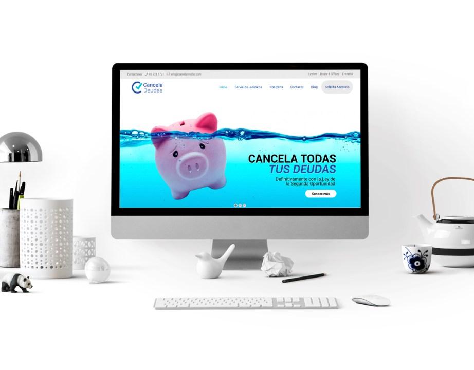 Diseño web - CancelaDeudas