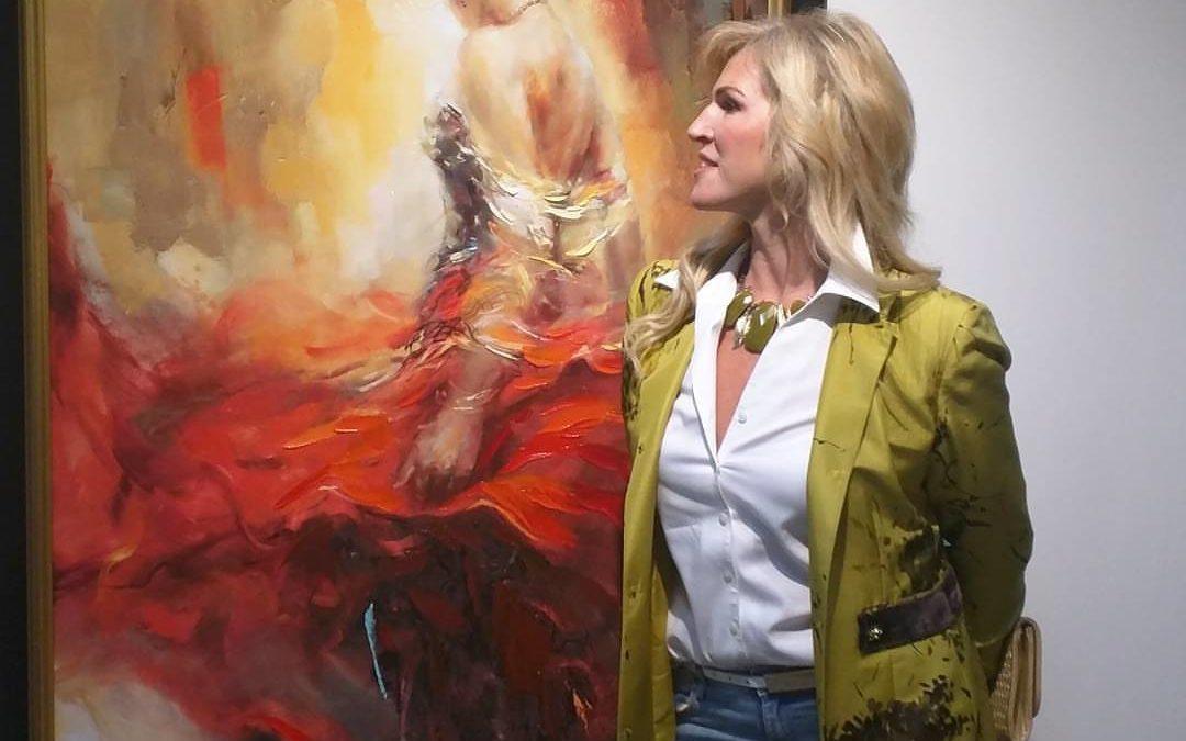 Élő Festőművészek 1. Anna Razumovskaya