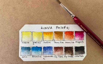 Hogyan különböztessük meg az akvarell színeket?