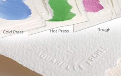 Az akvarell papír kiválasztása