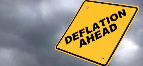 デフレーションとは何か。中央銀行の金融政策