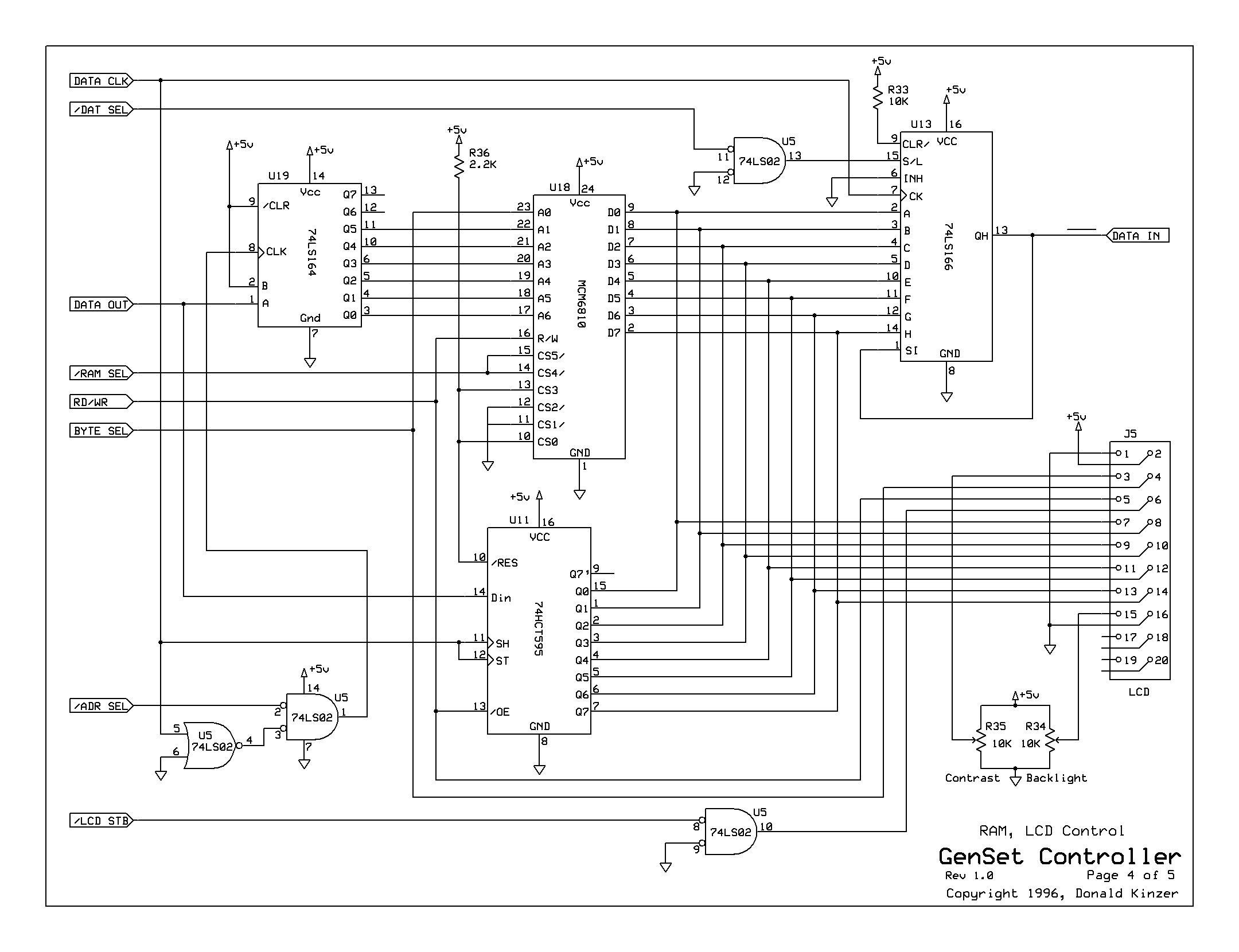 Sel Motor Generator Controller