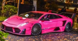 世界一セクシーなピンクのら諸星伸一氏デザインのカスタム・ムルシエラゴPortfolio