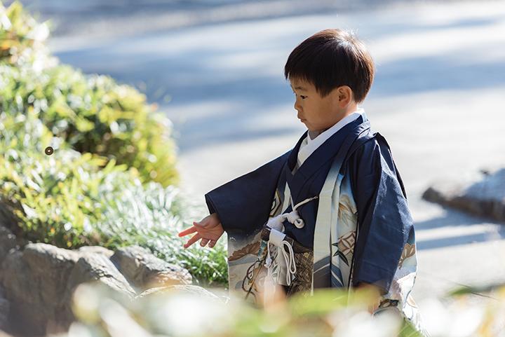 七五三撮影at桜木神社