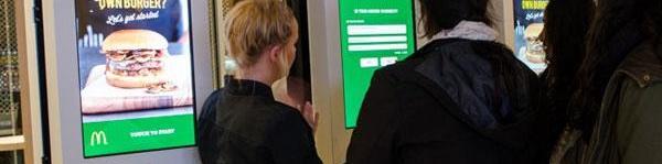 self-order kiosk mcdonalds