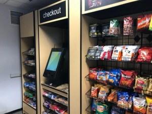 Bistro self-checkout kiosk