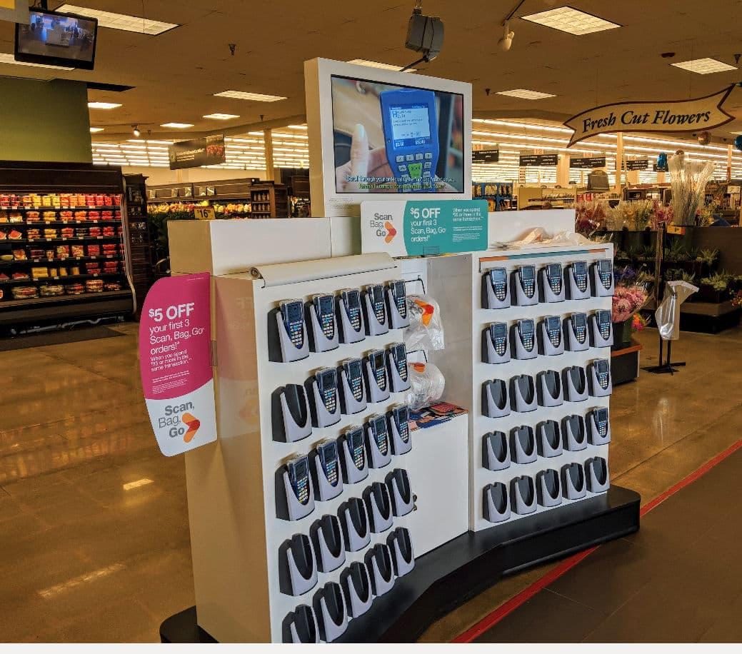 Retail Kiosk King Soopers self-order