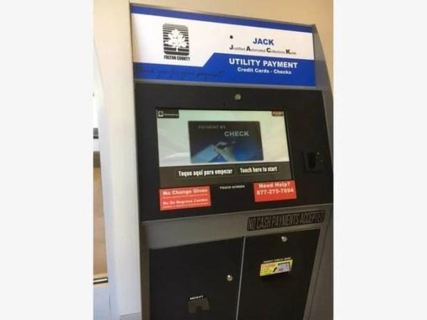 Utility Payment Kiosk