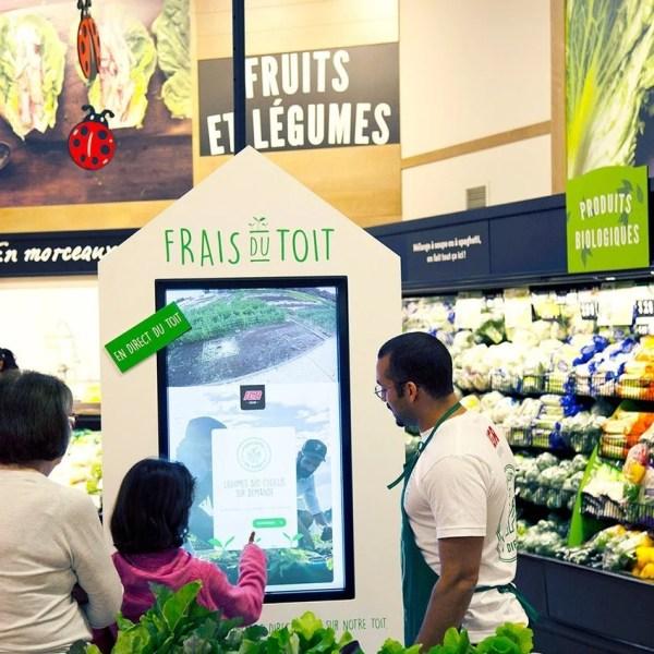 Grocers Use Kiosks For Vegetables