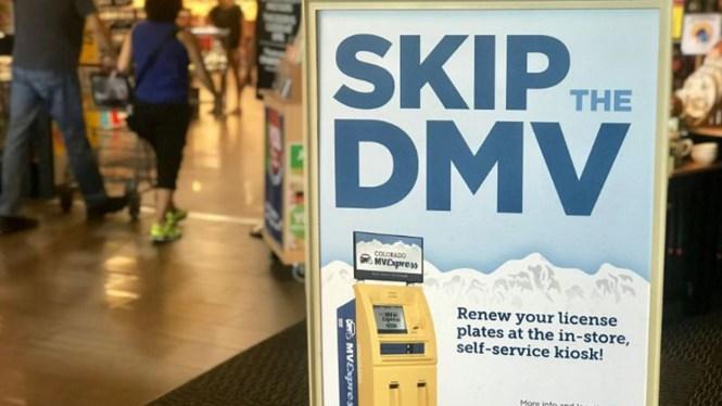 DMV Kiosk Frank Mayer